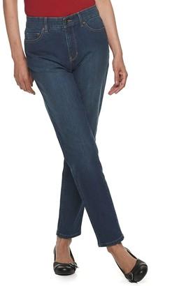 Croft & Barrow Women's Comfort Waist Straight Leg Jeans
