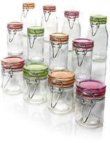 Kinetic Glassworks 12-piece Mini-Jar Storage Set - Small