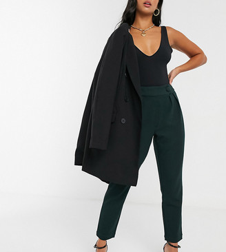 4th + Reckless Petite tapered pants in teal
