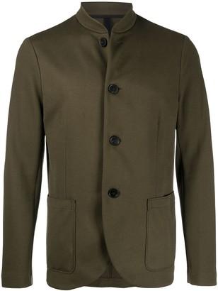 Harris Wharf London Button Front Light Cotton Jacket