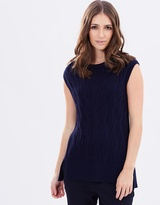 Sportscraft Louise Cable Knit Top