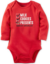 Carter's Santa's Checklist Bodysuit, Baby Boys & Baby Girls (0-24 months)