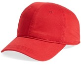 Lacoste Men's 'Classic' Cap - Red