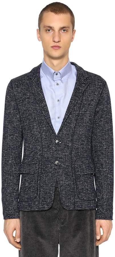 Giorgio Armani Deconstructed Wool Blend Jacket