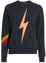 Aviator Nation Bolt Stitch Chevron Sweatshirt