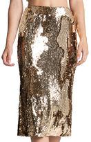 Dress the Population Sasha Sequin Midi Skirt