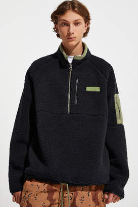 Fila Cozy Sherpa Half-Zip Sweatshirt