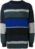 Sacai colour block jumper