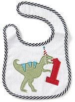 Mud Pie Baby Boys Dinosaur Birthday Bib