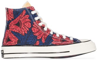 Converse Chuck 70 floral print sneakers