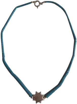 Non Signã© / Unsigned Turquoises Turquoise Silver Necklaces