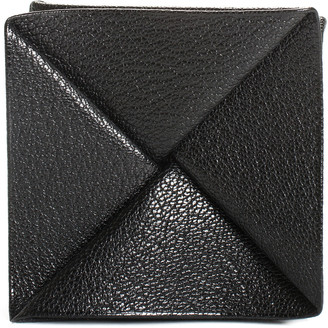 Hermes Black Leather Chevre Zulu Coin Purse