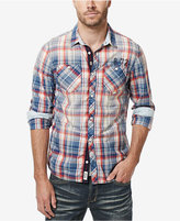 Buffalo David Bitton Men's Siwars Plaid Shirt