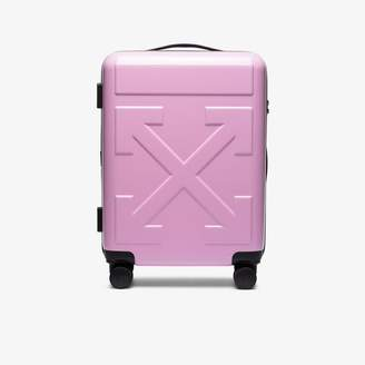 Off-White Off White pink For Travel Arrow trolley luggage