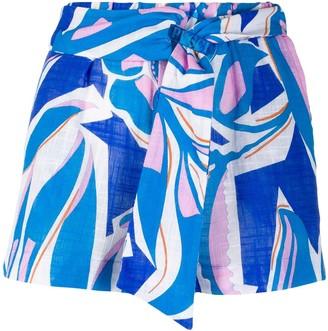 Emilio Pucci Graphic Print Shorts