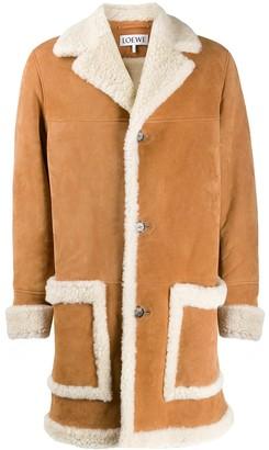 Loewe shearling overcoat