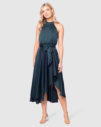 Pilgrim Women's Green Maxi dresses - Adeline Dress - Size One Size, 16 at The Iconic