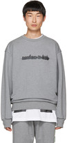 Juun.J Grey nowhere To Hide Sweatshirt