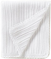 Edgehill Collection Lace-Trimmed Blanket