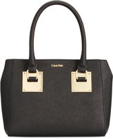 Calvin Klein Small Saffiano Leather Crossbody