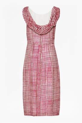 Great Plains Yoyo Check Scoop Back Dress