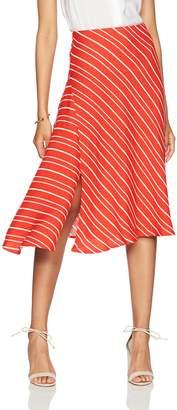 Paris Sunday Women's Midi A-Line Skirt