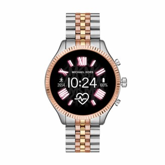 Michael Kors Gen 5 Lexington Connected Smartwatch with Wear OS by Google and Loudspeaker GPS Heart Rate and Smartphone Notifications
