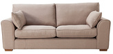 Collection New Ashdown 3 Seater Fabric Sofa - Taupe