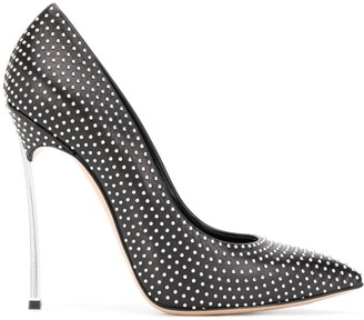 Casadei Blade studded pumps