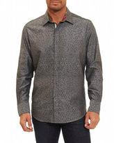 Robert Graham Basilio Tonal Geometric Sport Shirt