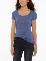 The Limited Eva Longoria French Terry Graphic Tee
