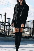 LOVE21 LOVE 21 Distressed Denim Jacket