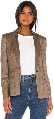 Central Park West Finley Sweater Dickey Blazer