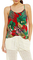 Roxy Sunday Casual Tropical-Floral Tank Top