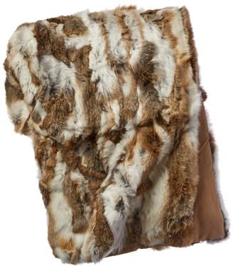 Adrienne Landau Fur Throw