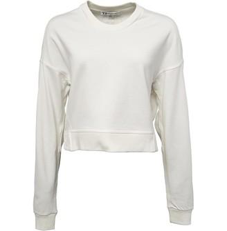 adidas Womens Y-3 Yohji Love Crew Sweat Core White