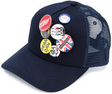 DSQUARED2 badge cap - men - Cotton/Polyester - One Size