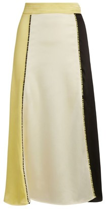 Stine Goya Jada Colour-Block Midi Skirt