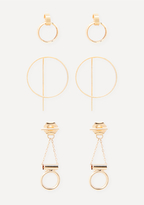 Bebe Mini Hoop Earring Set