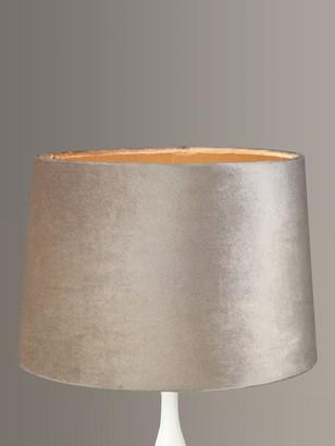 John Lewis & Partners Octavia Premium Velvet Lampshade