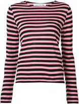 Comme des Garcons striped jumper - women - Acrylic/Wool - S