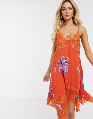 Free People table for 2 trapeze dress in multi