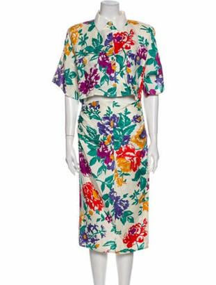 Gucci Vintage Midi Length Dress
