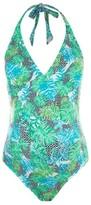 Topshop Women's Geo Leaf Maternity One-Piece Swimsuit