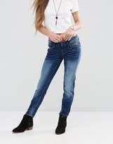 Pepe Jeans Ariel Mid Wash Skinny Jeans