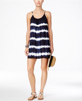 Raviya Tie-Dyed Striped Cover-Up