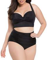 Cathery Summer Swimsuit Women's Swimwear Two Piece Swimdress Swim Bathing Suit Plus size (XL, )