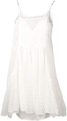 Stella McCartney sheer bib dress