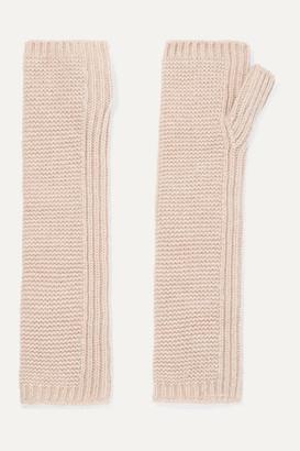 Johnstons of Elgin Cashmere Wrist Warmers - Beige