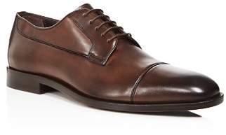 Canali Men's Stock Cap Toe Derby Shoes